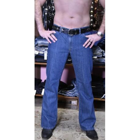 jeans Run&Fly mezza zampa boot stone washed