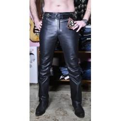 jeans in pelle classico 301