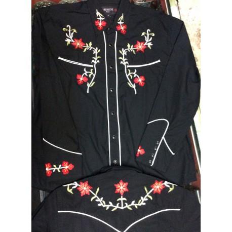 texana nera fiori red star