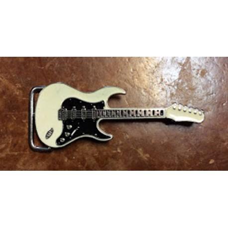 chitarra bianca/nera