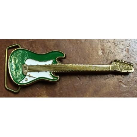 chitarra verde/bianca