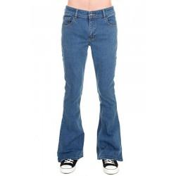 jeans run&fly zampa stretch